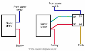 motor switch wiring relay diagram diagram wiring diagrams for