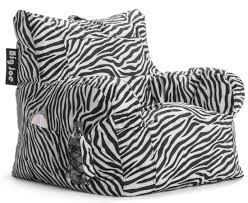 zebra swivel chair decorating lounge chair by big joe roma chair in zebra pattern