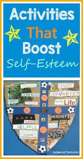 self esteem building activities for kids fun activities