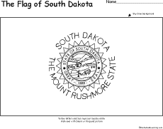 south dakota facts map and state symbols enchantedlearning com
