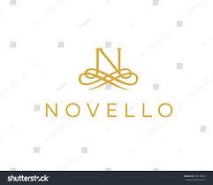 create monogram initials abstract monogram flower logo icon stock illustration