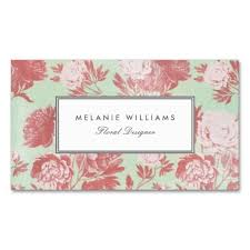 floral business card floral business cards 298 best floral design business cards images
