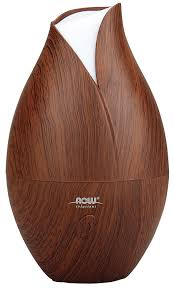 Amazon Oil Diffuser by Amazon Com Now Ultrasonic Faux Wood Essential Oil Diffuser