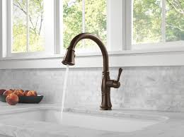 delta pull kitchen faucet delta 9197 rb dst cassidy single handle pull kitchen faucet