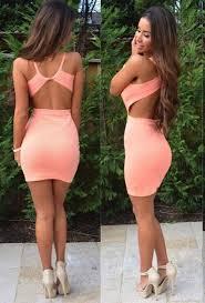 tight dress sleeveless backless tight dress womenpop