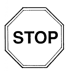 stop sign coloring page pictures 4333