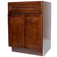 24 inch bathroom vanity single sink cabinet in leo saddle dark