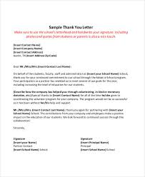 employment thank you letter sle 28 images thanks letter sle 100
