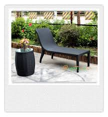authentic imitation pe rattan outdoor furniture lying bed recliner