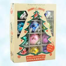 radko christmas ornaments flocked signature balls twelve set