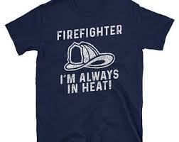 navy fireman shirt etsy