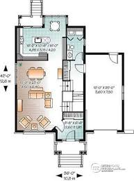 narrow house plans with garage house plan w3446 detail from drummondhouseplans