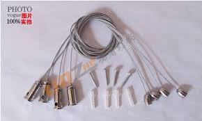 chandelier wire panel lights accessories hanging steel