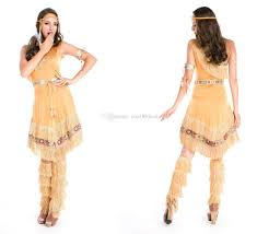 Native Indian Halloween Costumes Halloween Costume Uniforms Temptation Women Native American