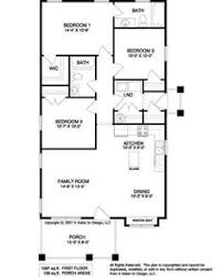 simple home plans floor plan for a small house 1 150 sf with 3 bedrooms and 2 baths