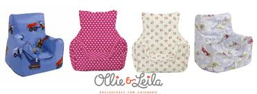 win a beautiful child u0027s bean chair from ollie u0026 leila