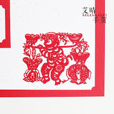usd 21 89 ai qing made handmade paper cut greeting cards for