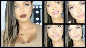 best lip colors for medium tan dark skin youtube