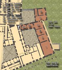 tomaso paynim u0027s page borgia apartments overview map floor plan