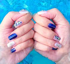 blue regal jewelry nails safori