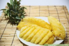 What Color Is Tope by 3 Ways To Tell If A Pineapple Is Ripe Wikihow