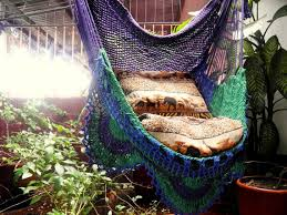 tricolor sitting hammock hanging chair natural cotton and