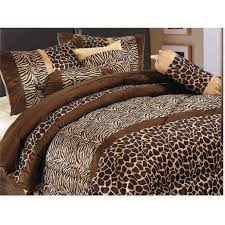 cool comforter sets with masculine leopard print comforter design