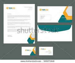 free stationery design template download free vector art stock