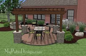 Design A Patio Patio Pergola Designs Calladoc Us