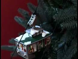 Animated Christmas Ornaments Uk by Mr Christmas Animated Christmas Tree Cable Cars Youtube