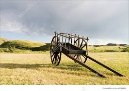 wooden cart picture
