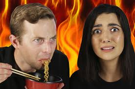 Challenge Buzzfeed Try The World S Spiciest Instant Noodle