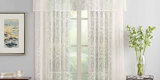 10 best lace curtains in 2017 classic sheer lace curtains for lace