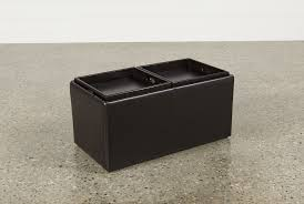 Leather Ottoman With Storage And Tray by Ottoman Mesmerizing Image Black Storage Ottoman Hodan Living
