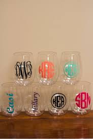 Diy Monogram Wine Glasses I Don U0027t Give A Sip Stemless Wine Glass Wine Note And Facebook