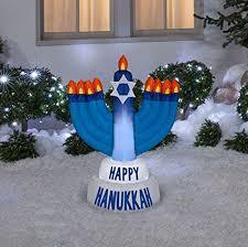 outdoor hanukkah menorah 42 in outdoor happy hanukkah menorah