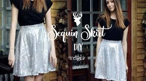 sequin skirt diy how to make a sequin circle skirt lily sav