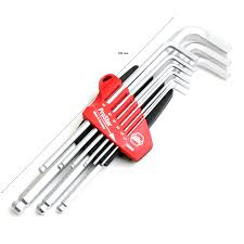 hex key set wiha sb369 s9 combination ball end hex key sets l wrench set 9pcs