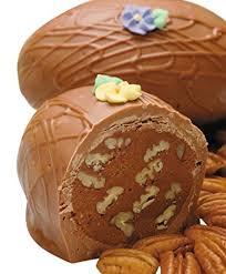 gourmet easter eggs amazon com philadelphia candies vanilla caramel pecan easter egg