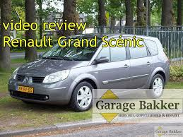 renault scenic 2005 7 seater video review renault grand scénic 1 9 dci 130 dynamique comfort
