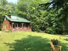 3br 2ba log cabin on big indian lake homeaway saint albans