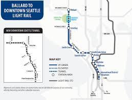 Seattle Light Rail Hours 22 Years To Ballard