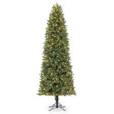 Downswept Slim Christmas Tree amazon com pre lit 8 function color changing led artificial 7