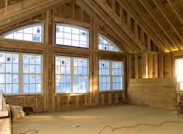 interior pleasant fox custom homes large great room windows two