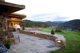 Stone Patio Design 20 Stone Patio Outdoor Designs Decorating Ideas Design Trends