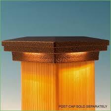 4x4 post cap lights lighting solar post cap lights uk trex deck lights led post cap