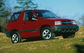 2001 chevrolet tracker information and photos zombiedrive