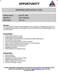 Receiving Clerk Job Description Resume Teacher Assistants Resume Examples Etude De Marche Prothesiste