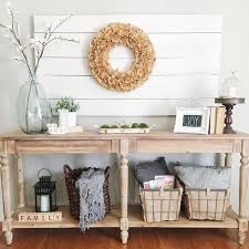 console table decor ideas cool rustic console table diy and best 25 decor