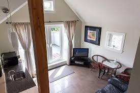livingroom in open livingroom in the upstairs suite at suite dreams vancouver